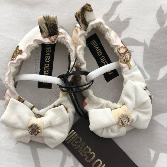 Roberto Cavalli Baby Shoes